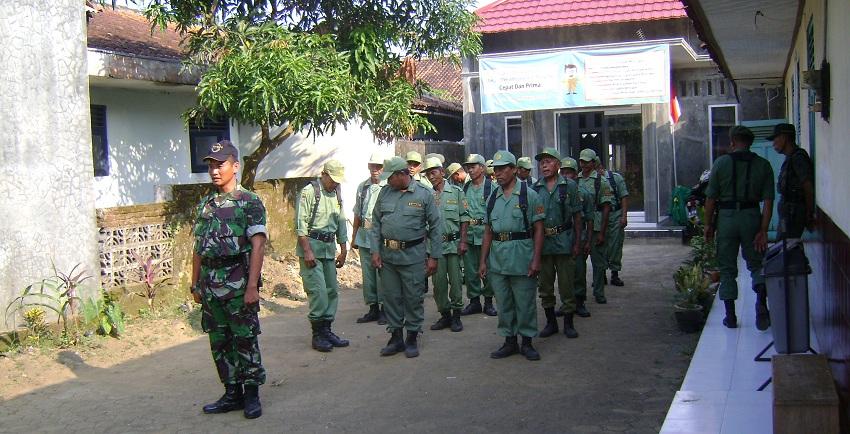 Semangat HANSIP Sebagai Garda Utama Perlindungan Masyarakat Desa