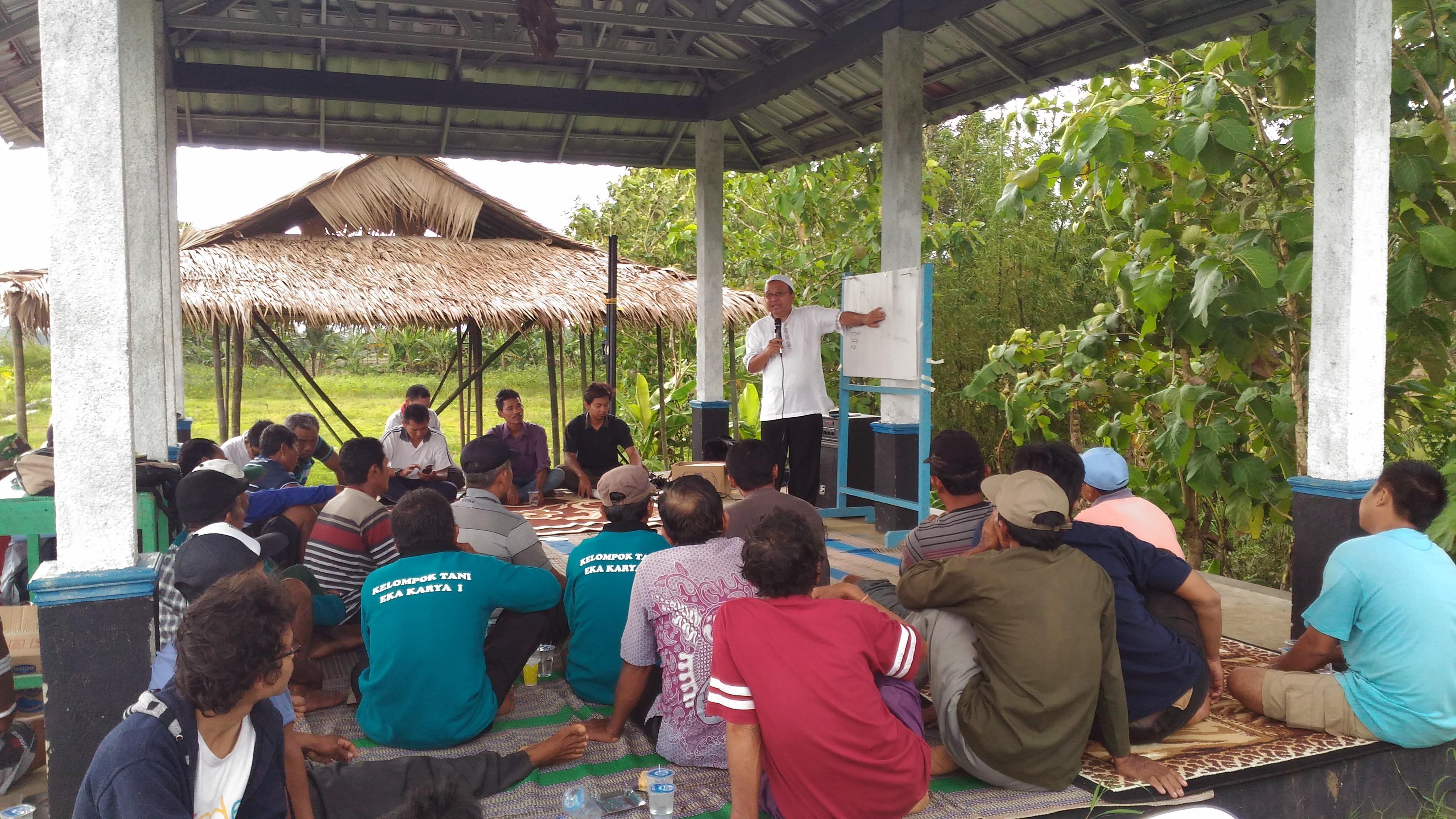 Mengurai Mimpi Desa Mandiri Bersama Petani Berdaya (Sekolah Tani Edisi #1)