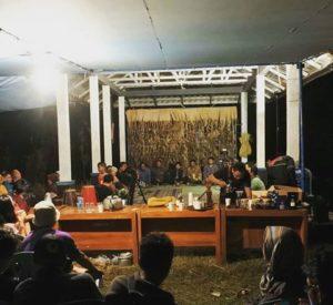 Juguran Petani dan Pemerhati Inovasi Pertanian Ramah Lingkungan di Acara Mapag Sri di Desa Wlahar Wetan